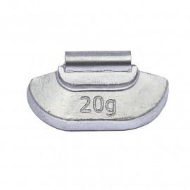 Грузик балансировочный. Вес 20 г. 100 шт/упак.