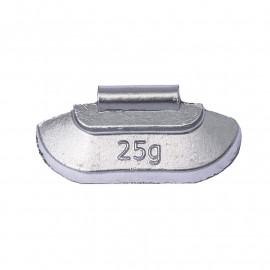 Грузик балансировочный. Вес 25 г. 100 шт/упак.