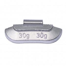 Грузик балансировочный. Вес 30 г. 100 шт/упак.