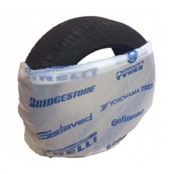 Пакеты для шин (с логотипом) 110см×110см, 17 мкм