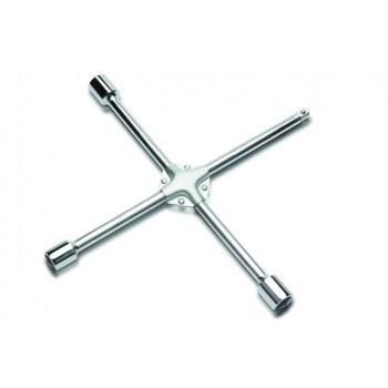 Ключ крестовой с металлической накладкой