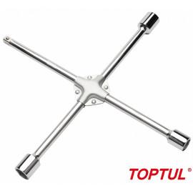 """Ключ баллонный крестовой 17,19,21мм 1/2"""" TOPTUL AEAL1616"""