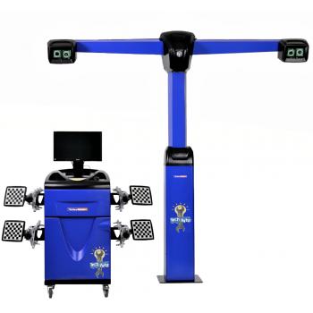 Техно Вектор 7 V 7204 T S Стенд Сход-Развал 3D