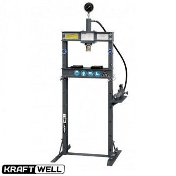 Пресс 10 т. с ручным приводом KraftWell KRWPR10