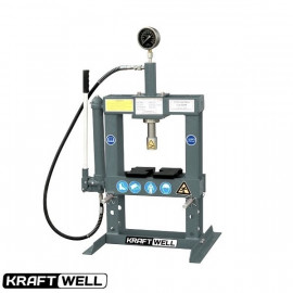 Пресс 10 т. настольный с ручным приводом KraftWell KRWPR10B