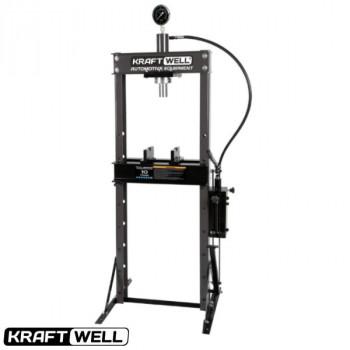 Пресс 10 т. с ножным приводом KraftWell KRWPR10F