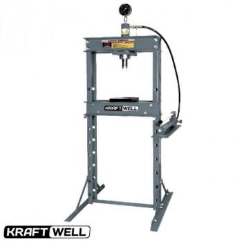 Пресс 20 т. с ручным приводом KraftWell KRWPR20