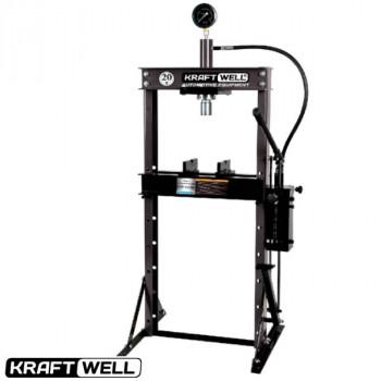 Пресс 20 т. с ручным и ножным приводом KraftWell KRWPR20F