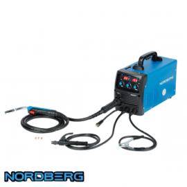 Аппарат сварочный инверторный MIG+MMA, 220V Norberg WMI201
